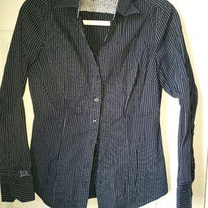 Express Design Studio fitted dress shirt